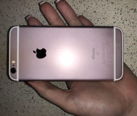 Iphone 64 gb rosegold