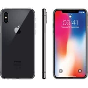 iPhone X 256GB SpaceGrey nerozblalený ČR