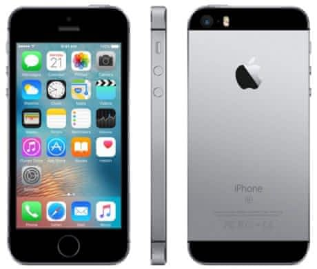 iPhone SE 64GB spacegray