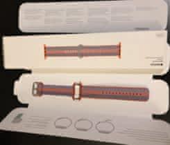  watch řemínek 42mm Orange Woven Nylon