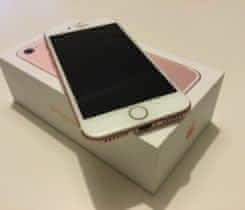 iPhone 7, Rosegold, 128 GB, v záruce