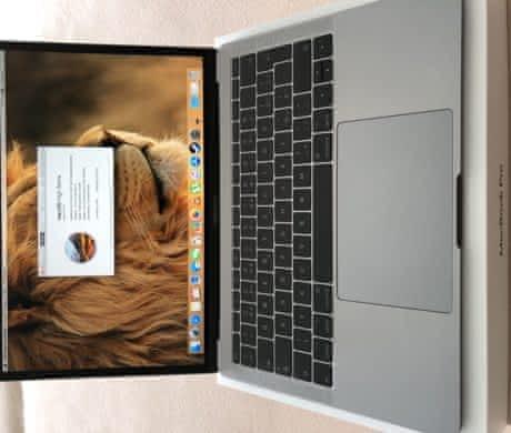"MacBook Pro 13"" Retina CZ 2017 128 GB"