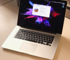 "MacBook pro 15"" – 2013, 16 GB RAM, 512 G"