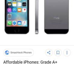 Koupím klidně prasklý IPhone 5S