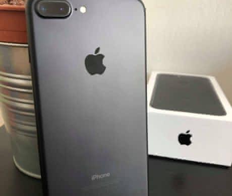 Ihone 7 plus matte black 128GB