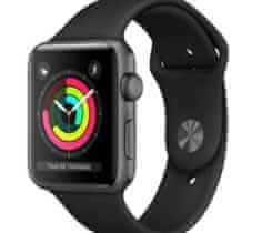 Koupín apple watch series 3 černé