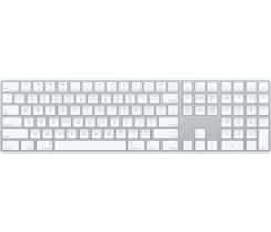 Apple Magic Keyboard s číselnou klávesnicí – česká