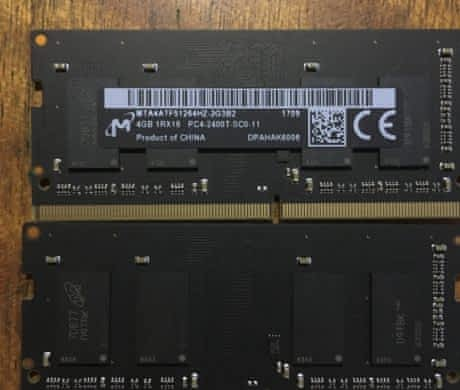 DDR4 RAM 8gb, iMac 2017