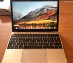 Macbook 12 Early 2015 zlatý