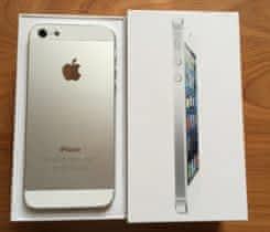iPhone 5 16GB silver – super stav