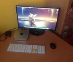 Mac Mini + Monitor, klávesnice, myš