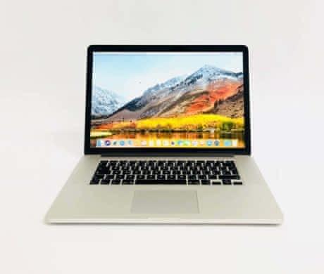 Macbook Pro 15 Retina, i7, rok 2014, 16GB RAM, 256GB SSD