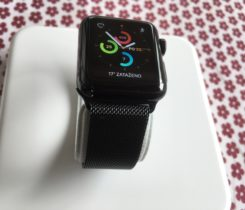 Apple Watch S2,38 mm,ocel ,safir sklo