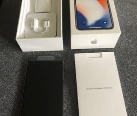 Iphone X 64G Silver