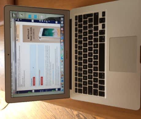 """Macbook Air 13"""" CZ"""