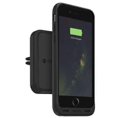 Mophie Charge Force Vent Mount magnetický držák do ventilace automobilu černý vhodný pro Apple Iphone 7 Plus