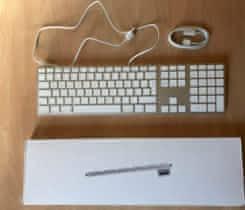Apple klávesnice numerická CZ (drátová)