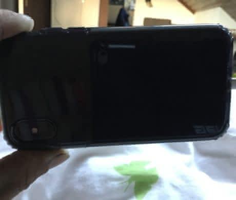Iphone X 256gb šedý