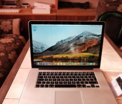 Macbook pro 2015 15.4 top