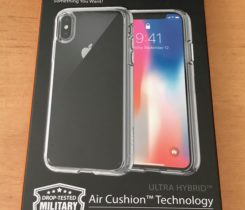 Spigen Ultra Hybrid čirý Case Apple X