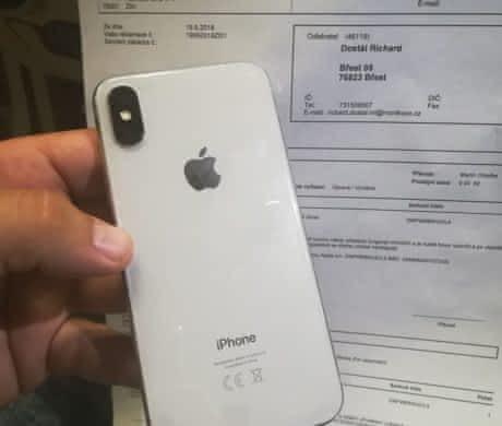 Iphone X 256GB NOVÝ ZÁRUKA OCHRANNÉ SKLO