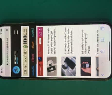 Iphone X 64B Silver