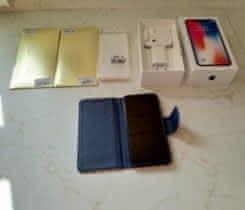 Prodám IphoneX  šedý 64GB + dopňky