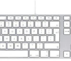 Apple Wired Keyboard CZ (MB110CZ/B)