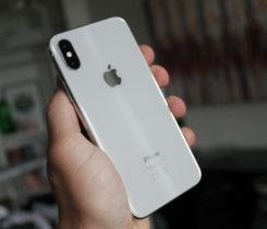 Prodám iPhone X Silver 64 GB + kryt