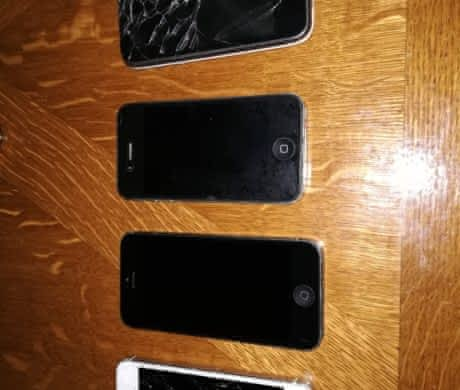 iPhone 3GS, iPhone 4S, iPhone 5 a 5S