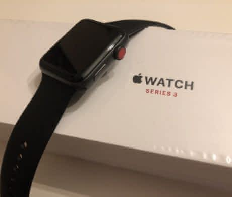 Apple Watch series 3 space gray LTE