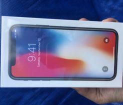Fungl novy Iphone X 64gb space gray.