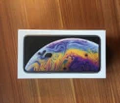 Apple iPhone Xs 256 GB Silver, IHNED!