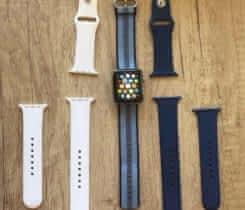 Apple Watch S2 42mm nerez vč 3 pásků