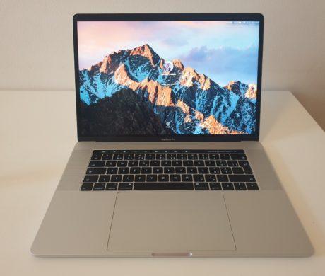 MacBook Pro 15 2017 Touch Bar 512GB Stří