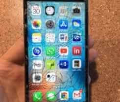 IPHONE 6S 32GB, černý,  rozbite sklo
