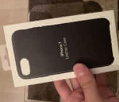 Kožený  case pre iPhone 7/8 black