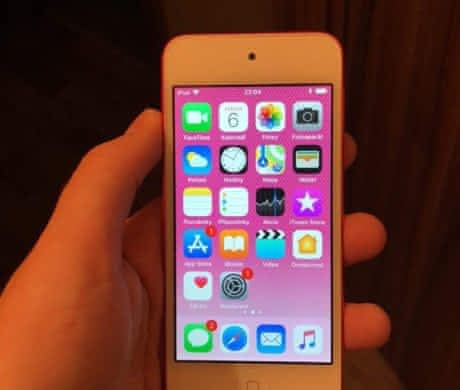 iPod touch 6. Gen. 32gb růžový