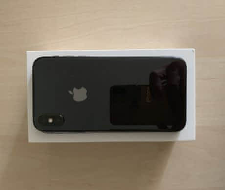 Phone X 64GB Space Gray,