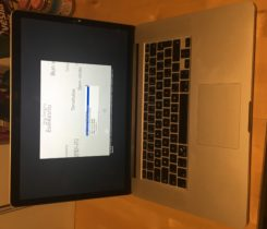 "Macbook PRO 15"" i7 8GB Retina 2014"
