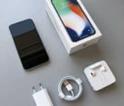 Apple iPhone X 256 GB silver (stříbrný)