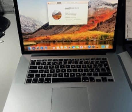 Macbook PRO RETINA 15-inch mid 2014