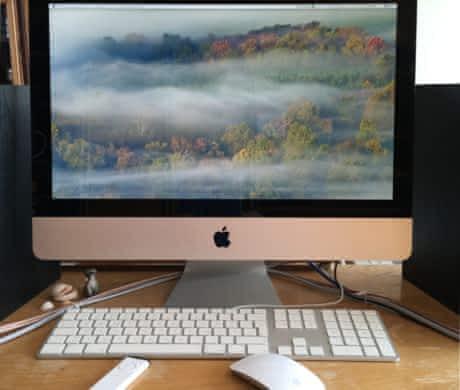 "iMac 21,5"" + disk WD RAID + TV Elgato"
