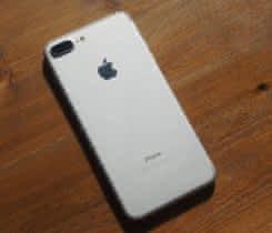 iPhone 7 PLUS 128GB stříbrný JAKO NOVÝ