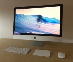 "iMac 27"" 5K – i5, 3,3 GHz, 16 GB, 2015"