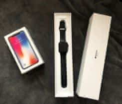 iPhone X 64GB Space Grey+iWatch 3Gen42mm