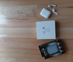 Apple AirPods + Ochranné pouzdro (ZDARMA