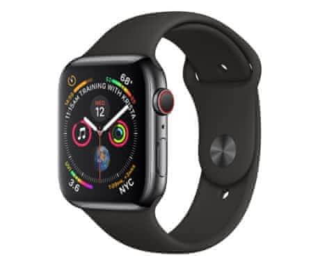 Apple Watch 4 černé,cellular, 44mm