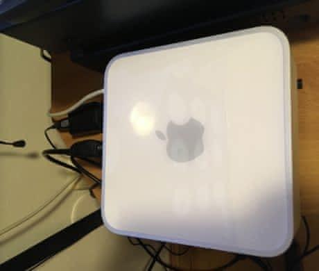 Mac mini, 8GB RAM, 128GB SSD, 500GB HDD