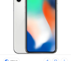 Koupím iphone X silver 64 GB